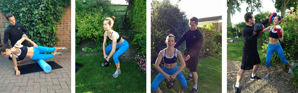 Effective Personal Training Teesside, Middlesbrough and Durham - Home Training collage